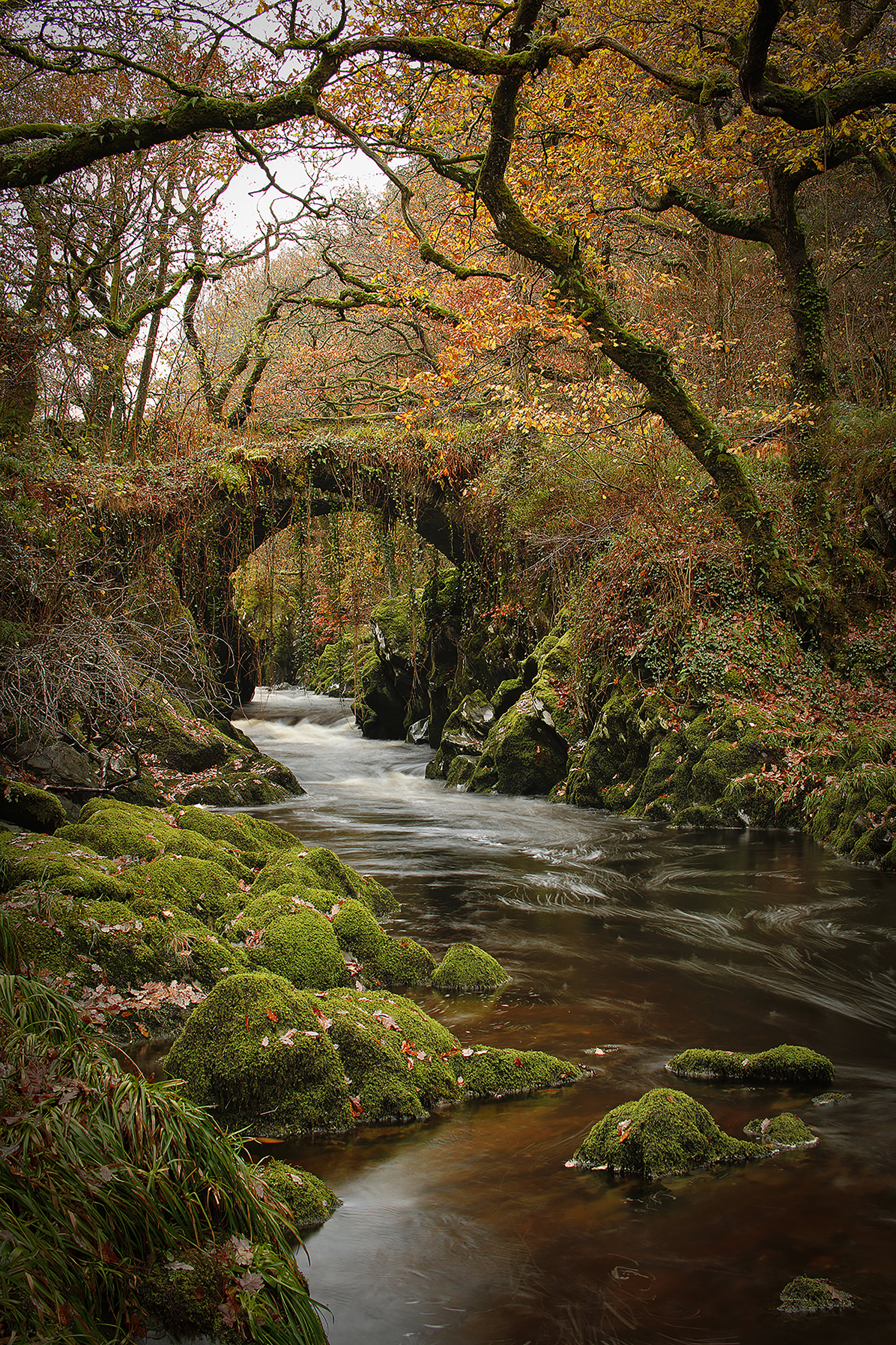 The Roman Bridge Snowdonia Wales