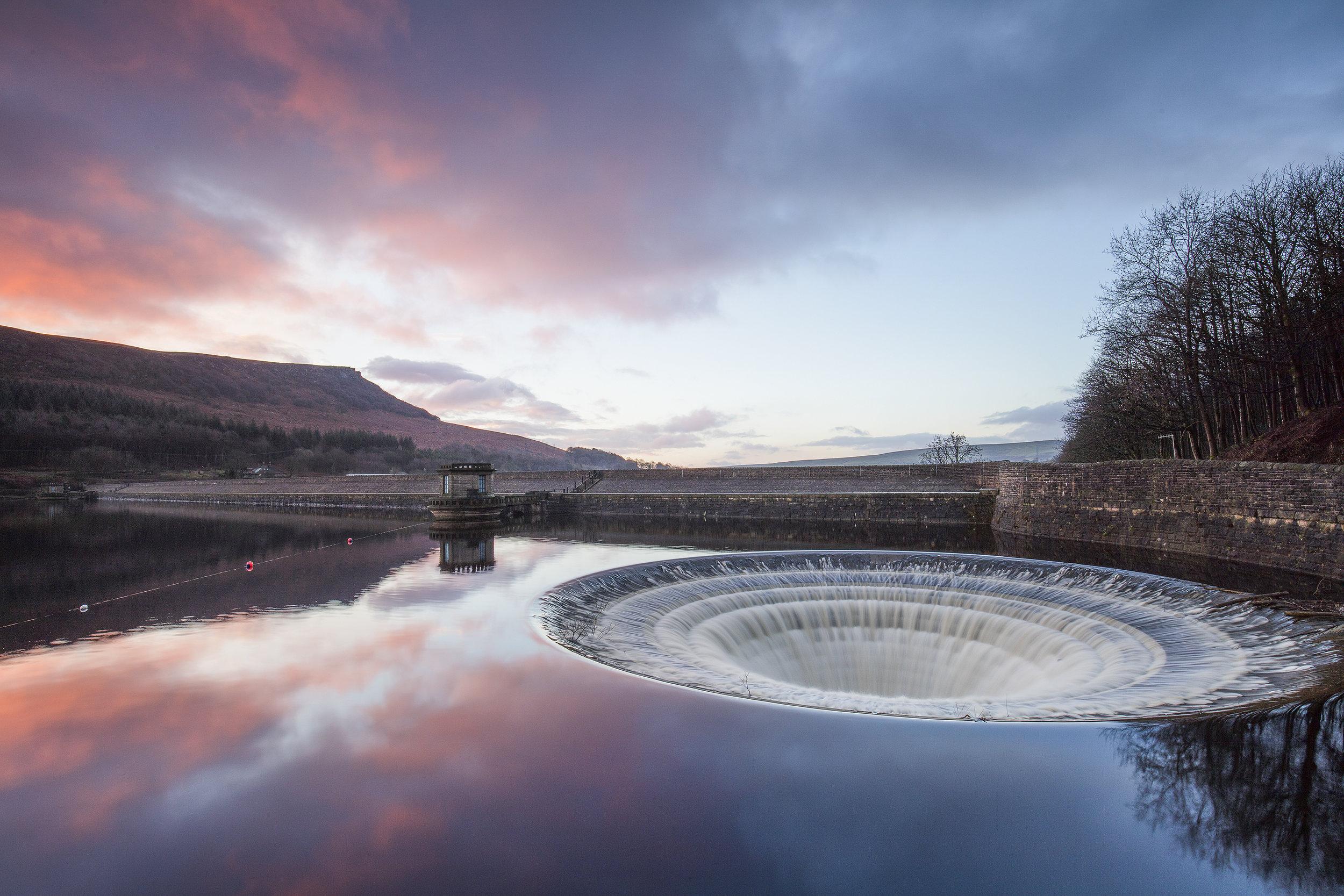 Ladybower Plughole Sunrise Peak District Landscape Photography