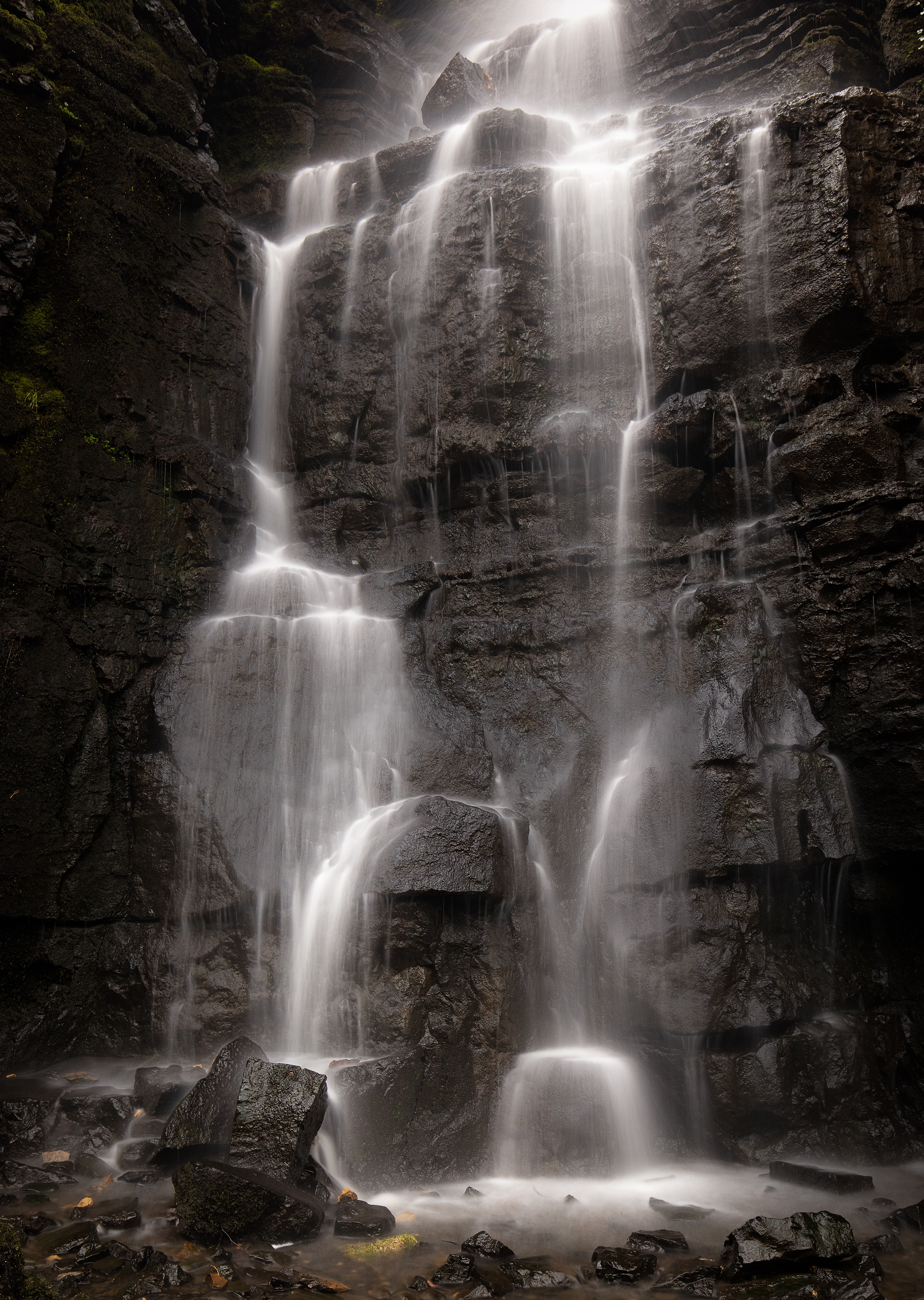Waterfall Swallet in the Peak District Landscape Photography
