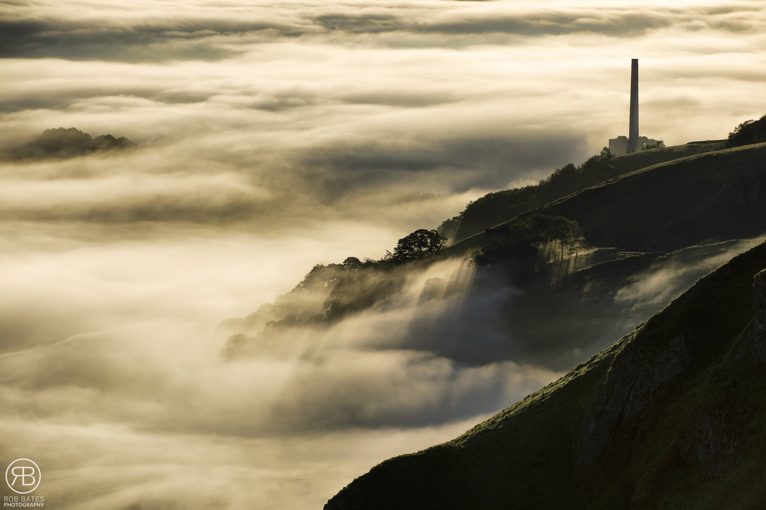 Hope valley cement works cloud inversion