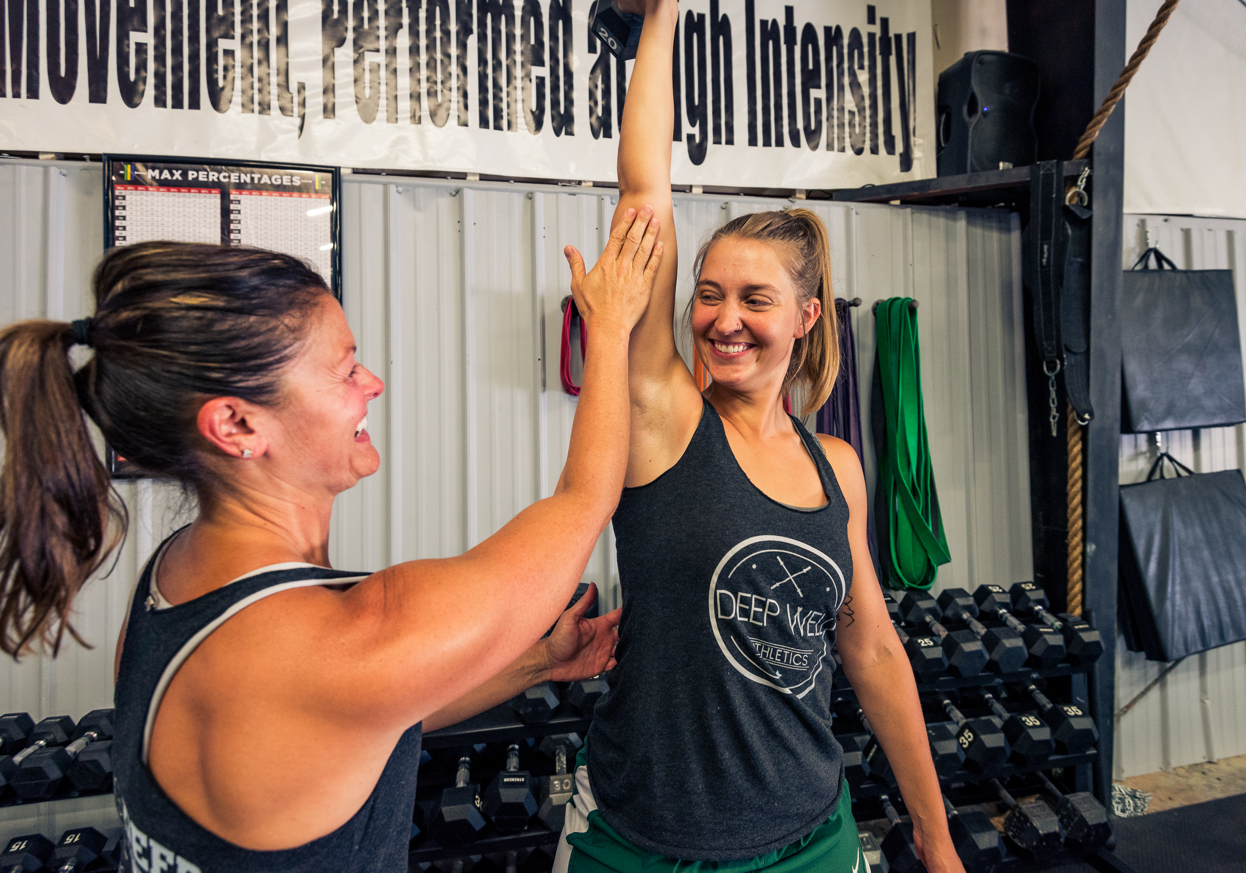 Personal Training - 1-on-1 training provides a private and more intimate experience for anyone looking start their fitness journey in a more private setting. With this service, you're in control of your training schedule and every session is individually tailored to your goals and fitness level.