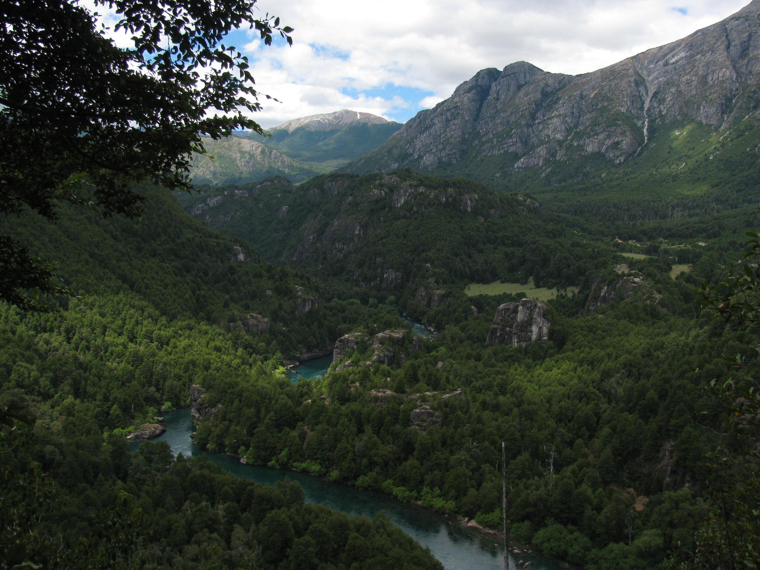 The Futaleufú River in Chile (photo by D. Hertz)