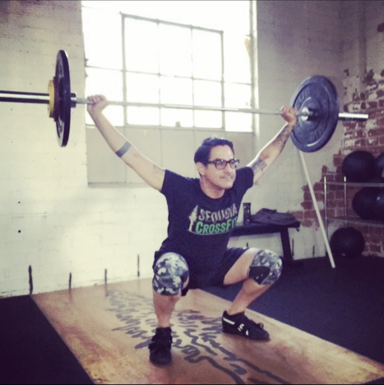 ADAN LUEVANO - How long have you been a member of Barbell Club?I will have one year in October as a member of Barbell Club.Had you done CrossFit before joining? If so, for how long?I had not tried either CrossFit or Weightlifting prior to starting with Sequoia CrossFit.What inspired you to join Barbell Club?I had been watching videos of weightlifting and it seemed really fun and hard at the same time. I am really drawn to the discipline of the movements.What is your favorite WOD and why?The workouts are pretty varied but all are centered with elements of the snatch and clean and jerk.What is your favorite movement and why?Now, it is the snatch. I used to get frustrated with it because my body did not want to bend into position but after a year I now feel comfortable with it and can appreciate it more.What is your favorite indulgence (type of food, drink, or....you know)?Pizza. Food in perfection.