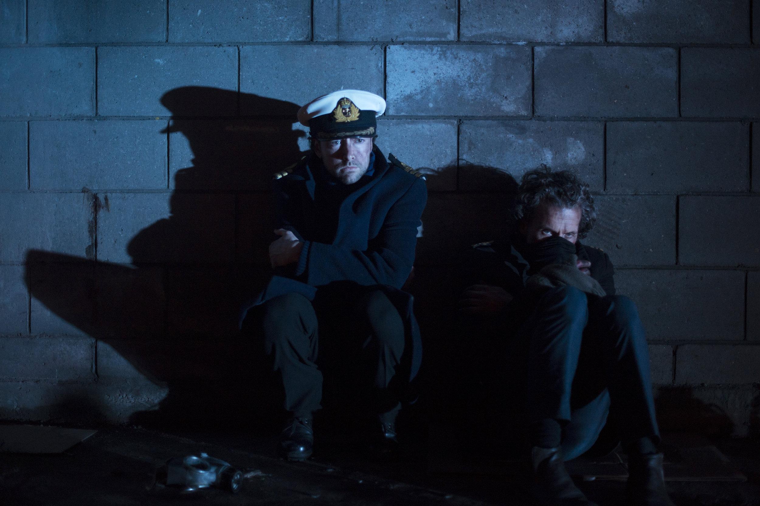 Pendell (James Heatlie) and Harris (Darren Jelley)