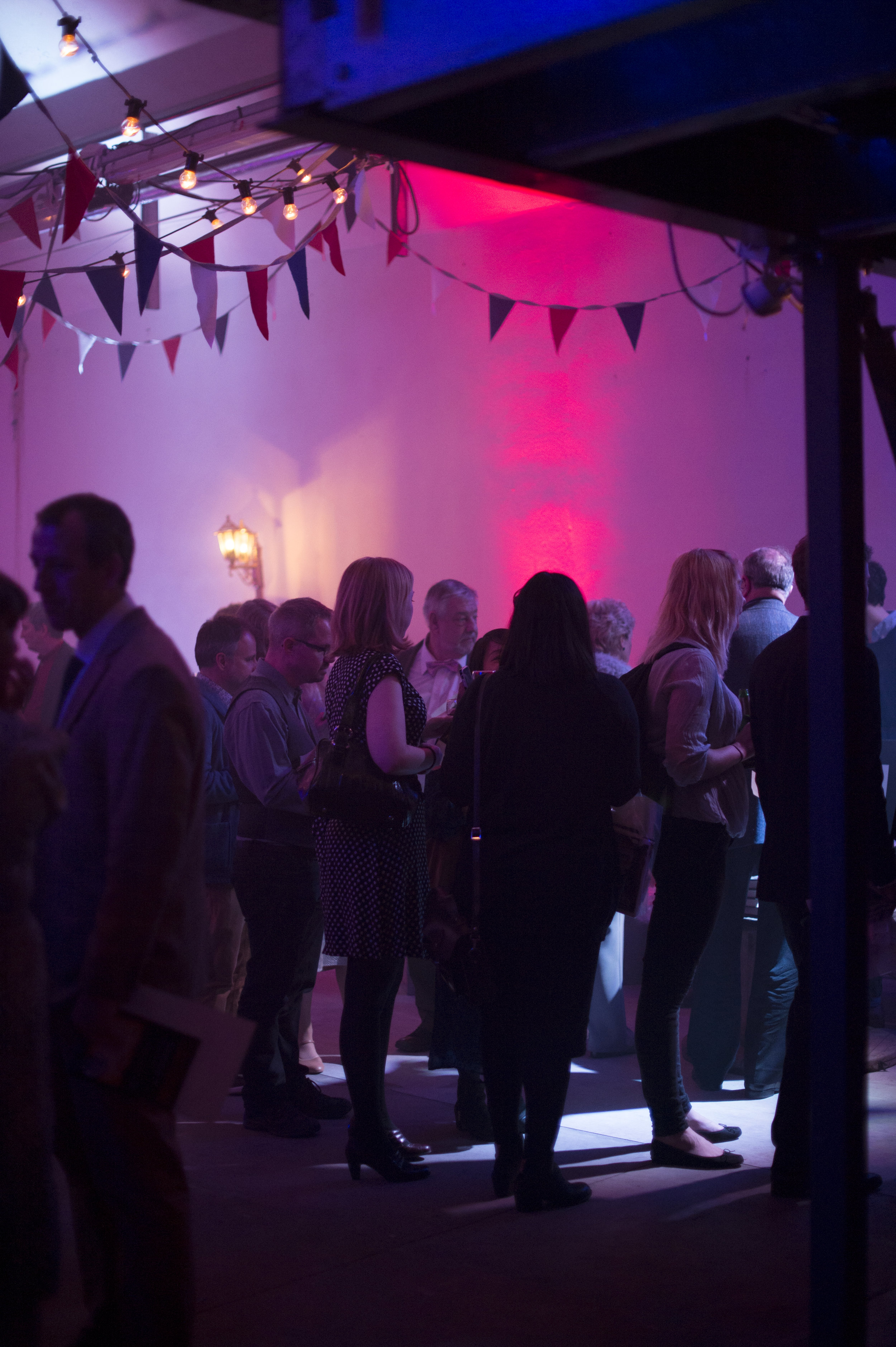 Launch party at The Vaults in London