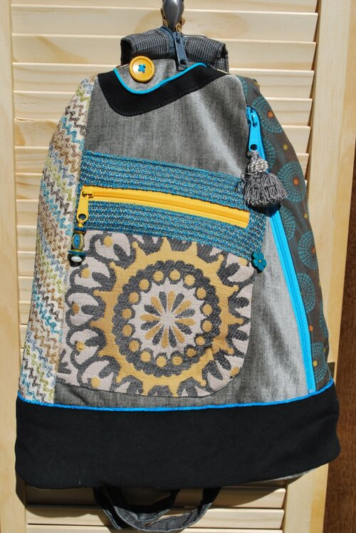 Convertible backpacksling bag SERENGETI
