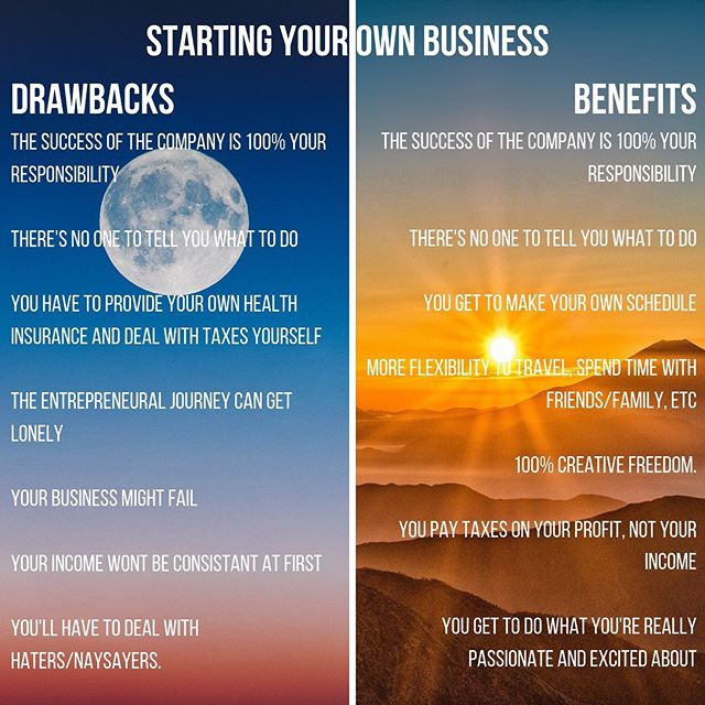 There are drawbacks and benefits to everything including starting a business. It doesn't mean you shouldn't start a business, it just means you need to be aware of the drawbacks and plan ahead of time for the obstacles that come with them :) #becomingboss #buildingabusiness #startyourownbusiness #beingboss #miamientrepreneur #entrepreneurlife #yinyang #balance #benefitsanddrawbacks #beyourownboss #businessowner #businesstip #businessmentor #entrepreneurialjourney
