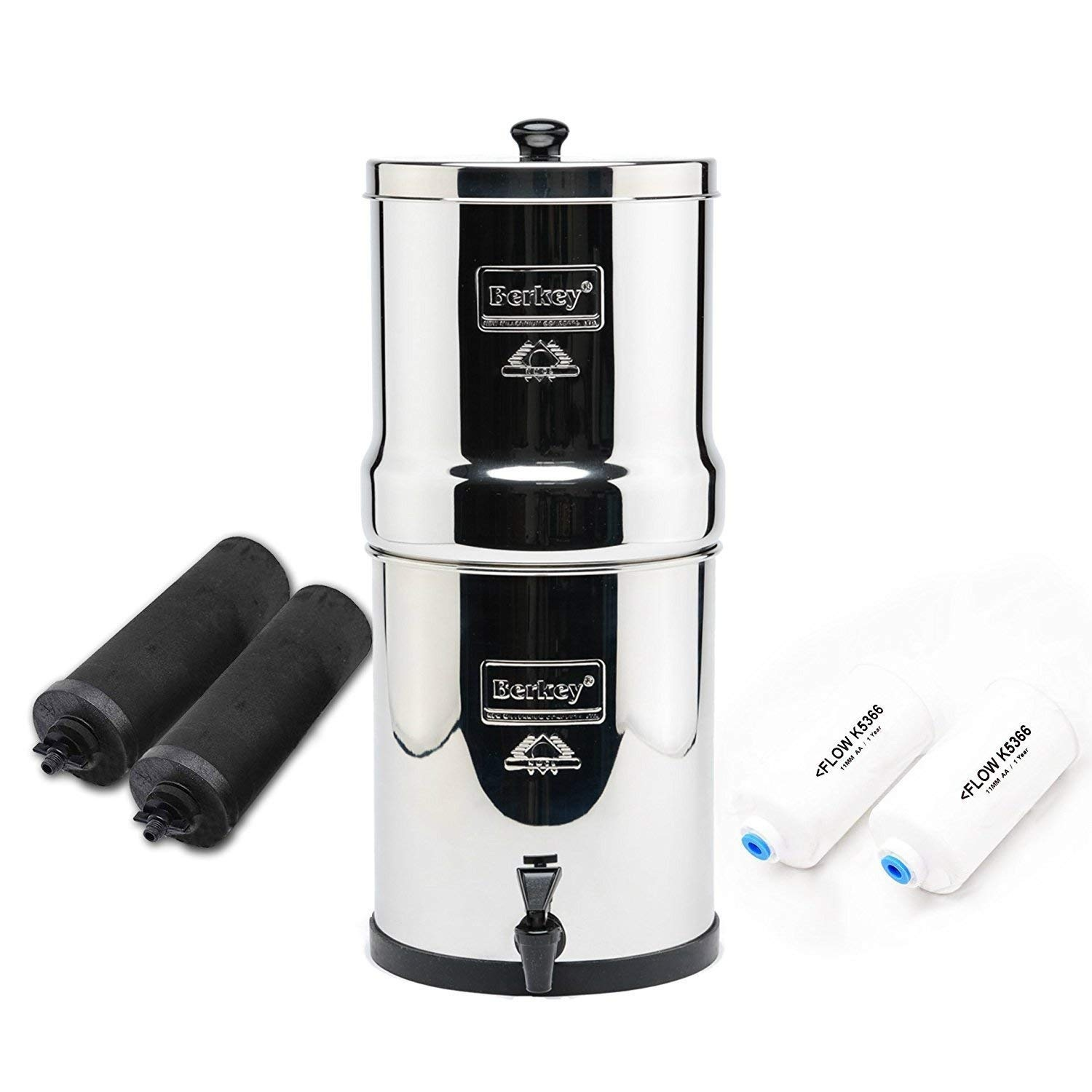 Travel Berkey Water Filter -