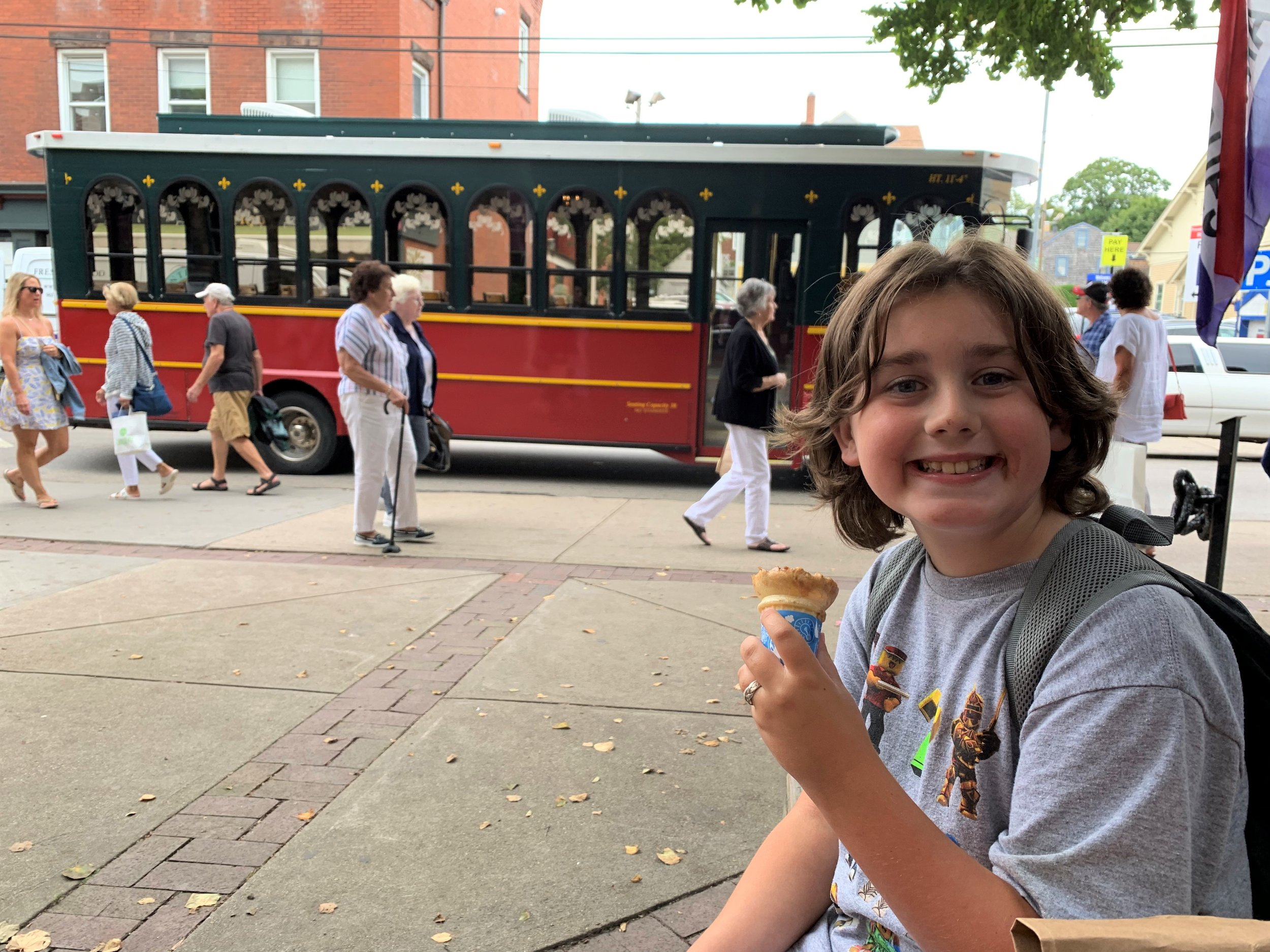 Trolleys and ice cream -