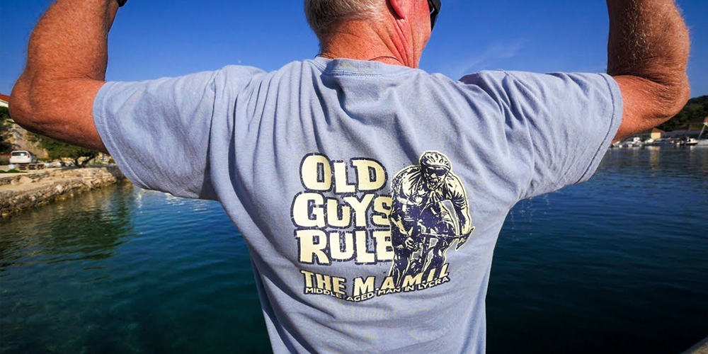 "Old Guys Rule - This range of tongue-in-cheek T-shirts are a brilliant gift for the man in your life, or your dad, grandad, uncle… you name it! In their words: ""Old Guys Rule should be worn as a badge of honor for a life well-spent, but not nearly over."""