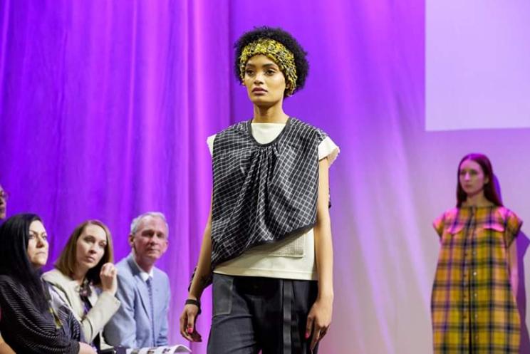 MassArt Sr Fashion Show SP19, model info- bottom of page.
