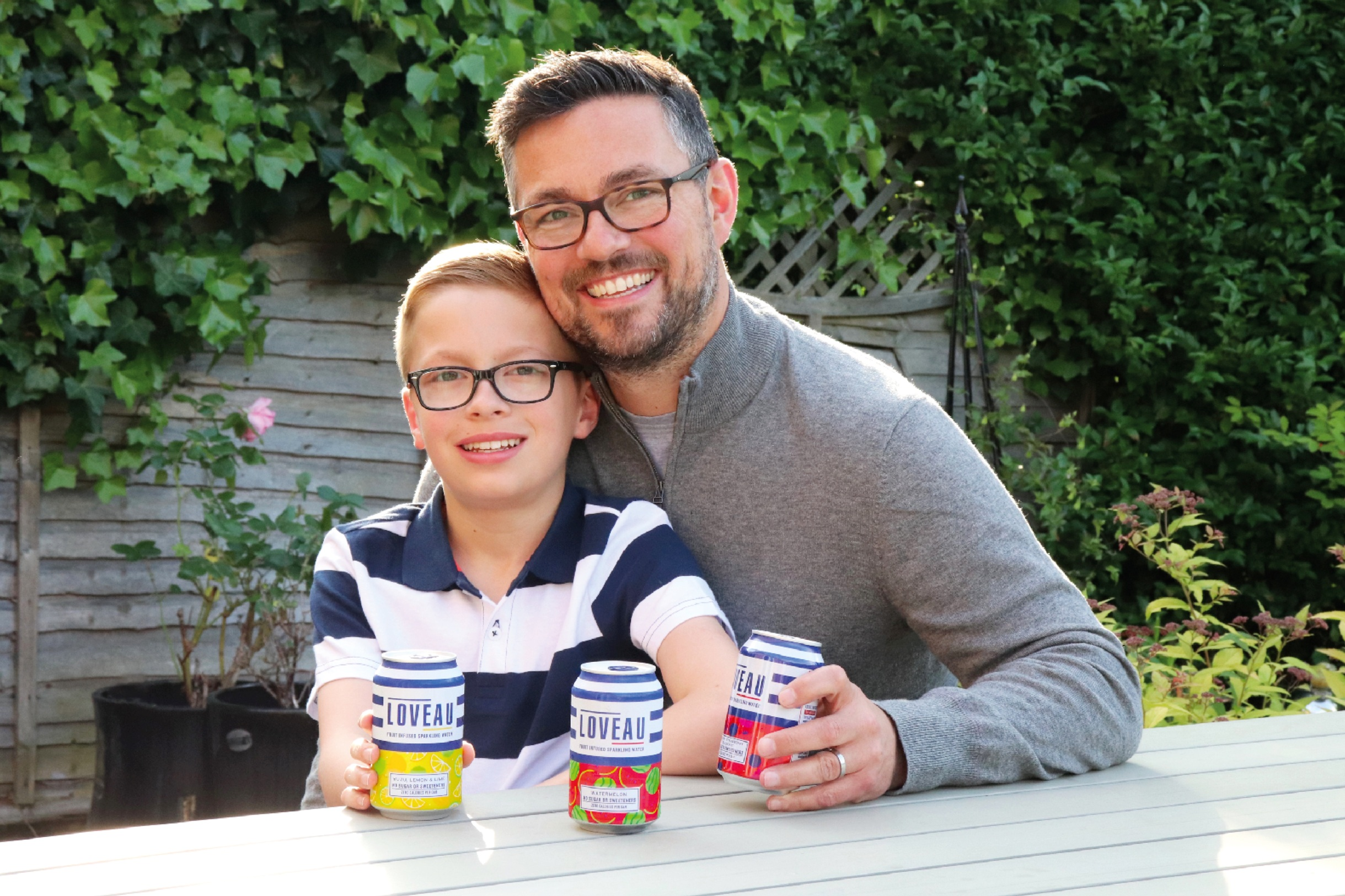 OUR INSPIRATION - The idea for making a drink free from sugar or sweeteners came when Ollie was diagnosed with Type 1 diabetes at the age of 8. Dad, Simon, along with his colleagues Ian and Ade, decided to make a great alternative to sugary fizz - something that could be a positive choice for anyone!