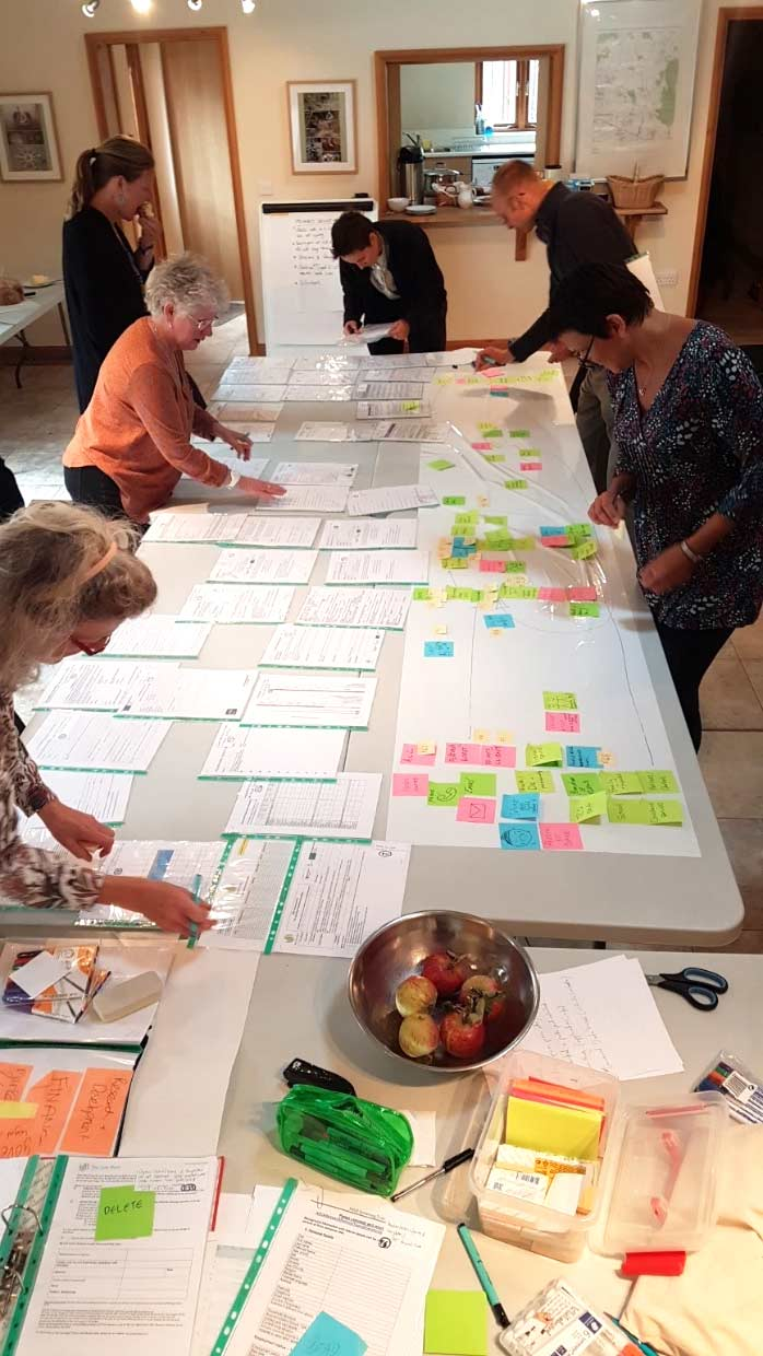 Mapping data journeys with the Cart Shed team