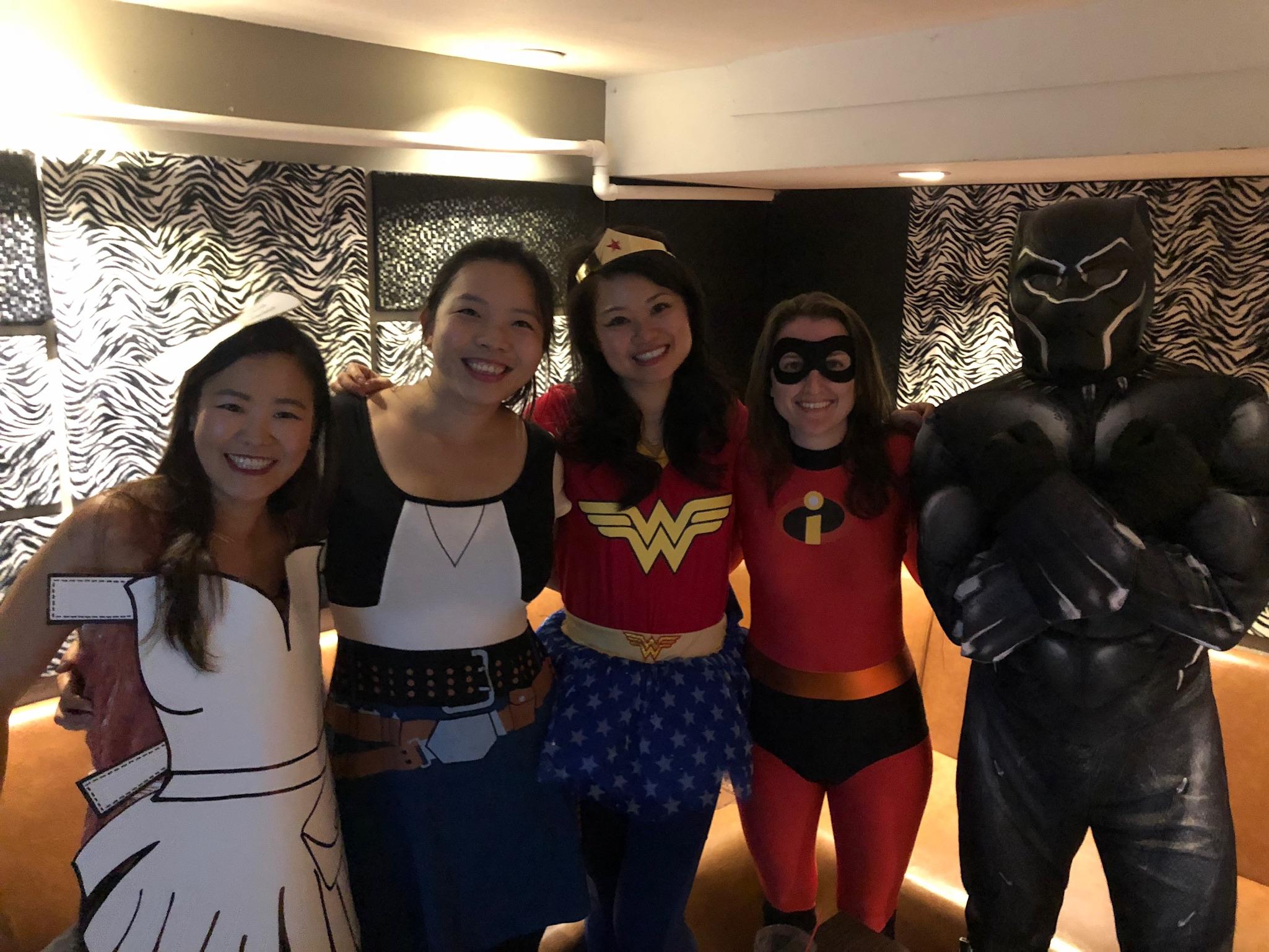Halloween karaoke! A new tradition