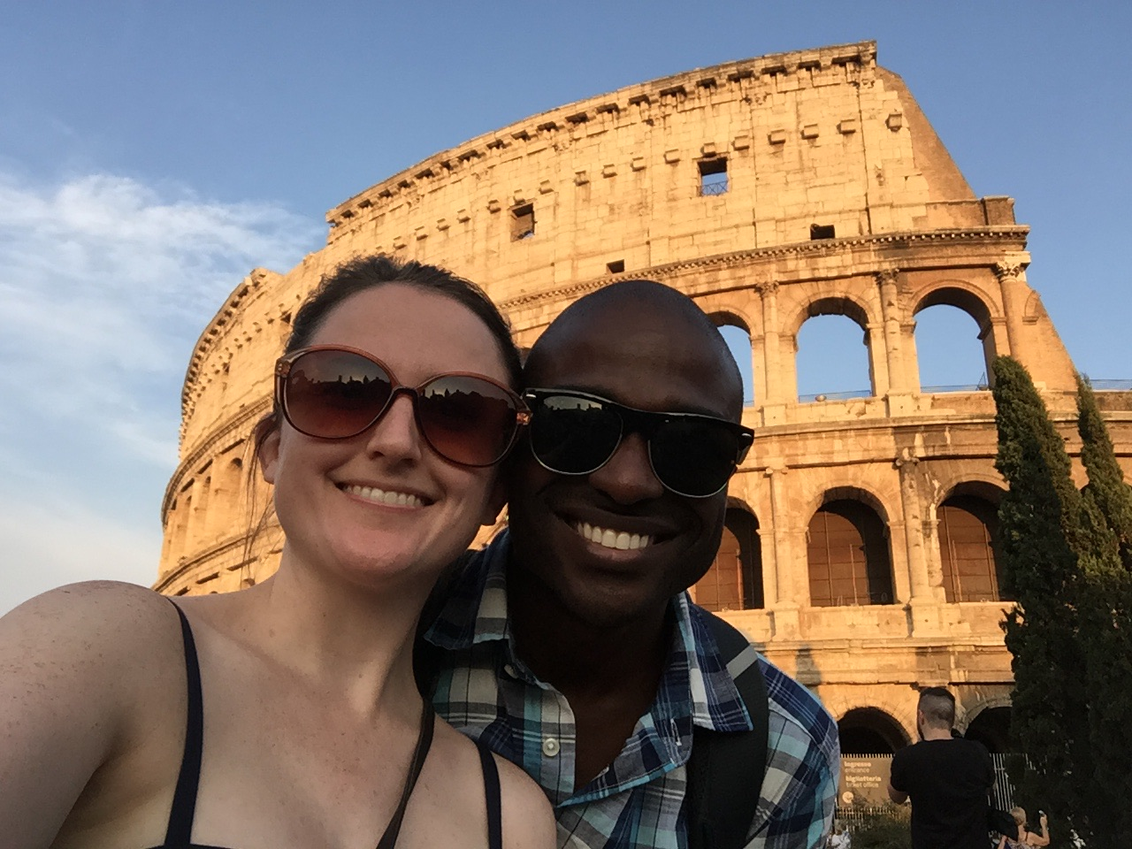 On vacation in Rome