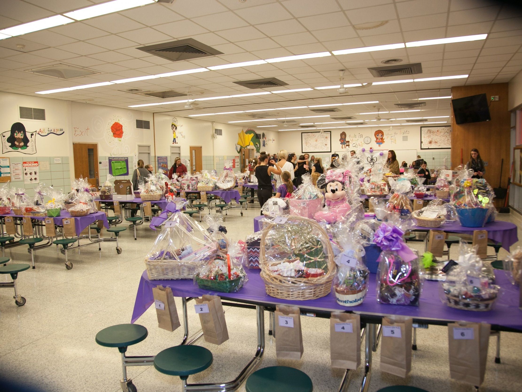 300+ raffle baskets, incredible silent auction items! -