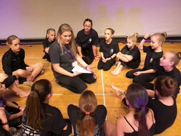 team building activies and dance classes -