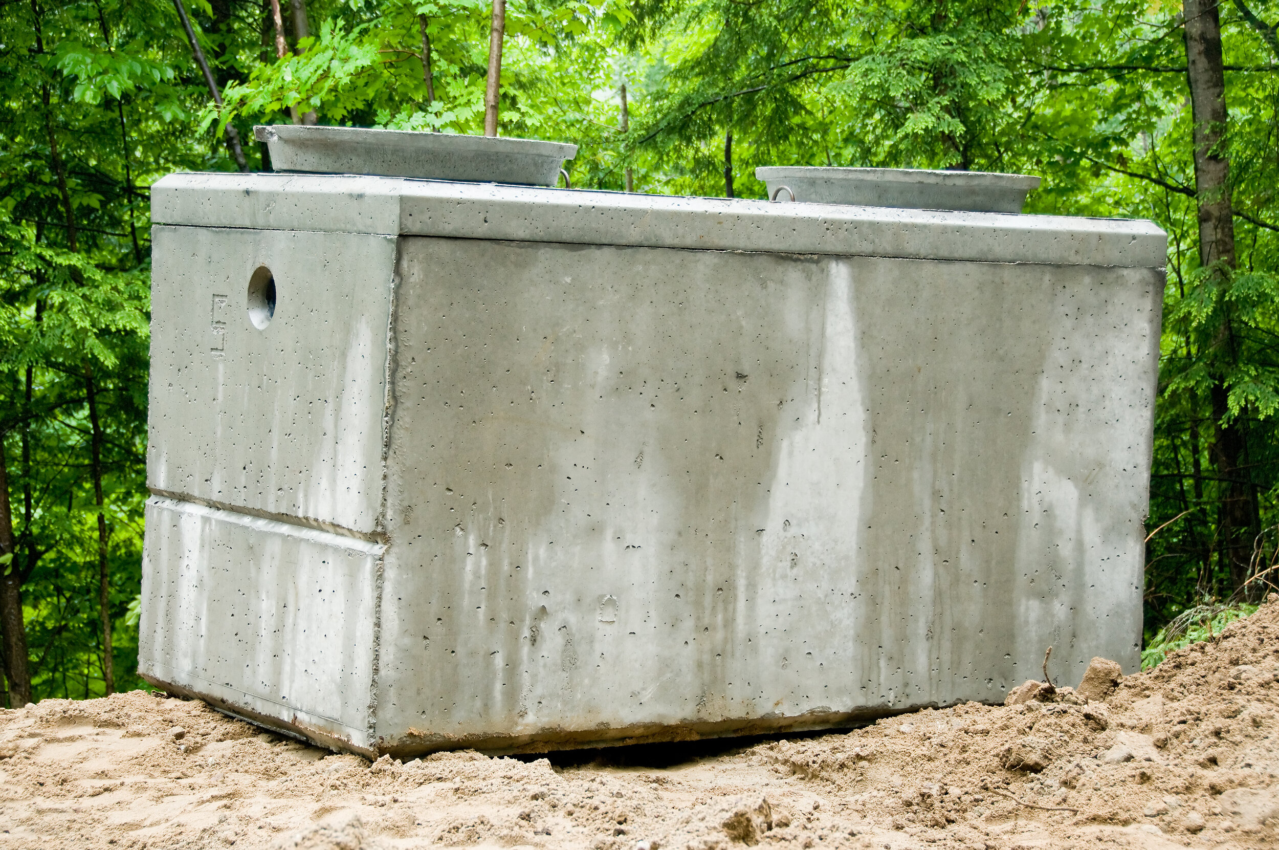 Concrete Septic Tanks Are Probably The Best Option Build With A Bang