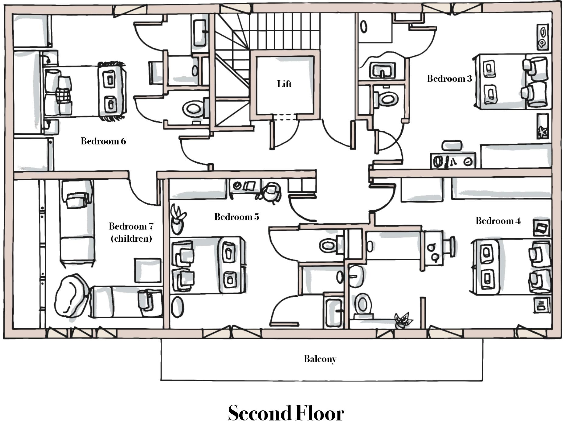 Chalet Bouquetin Second Floor.jpg