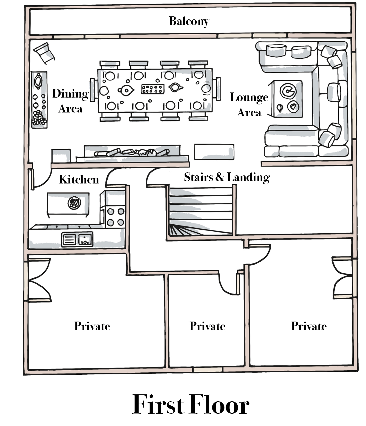 Chalet Musardiere First Floor.png