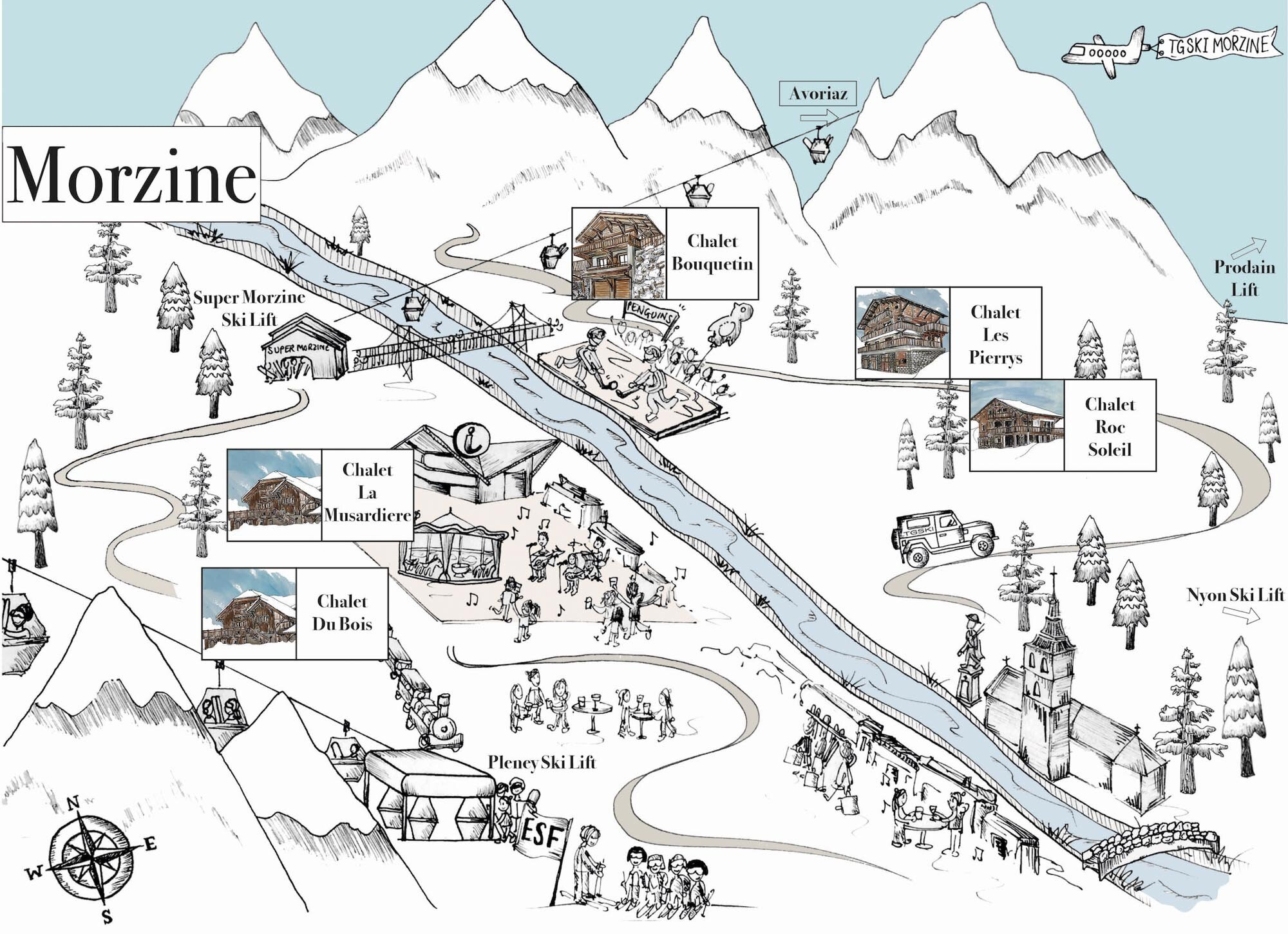 Morzine Map All Chalets.jpg