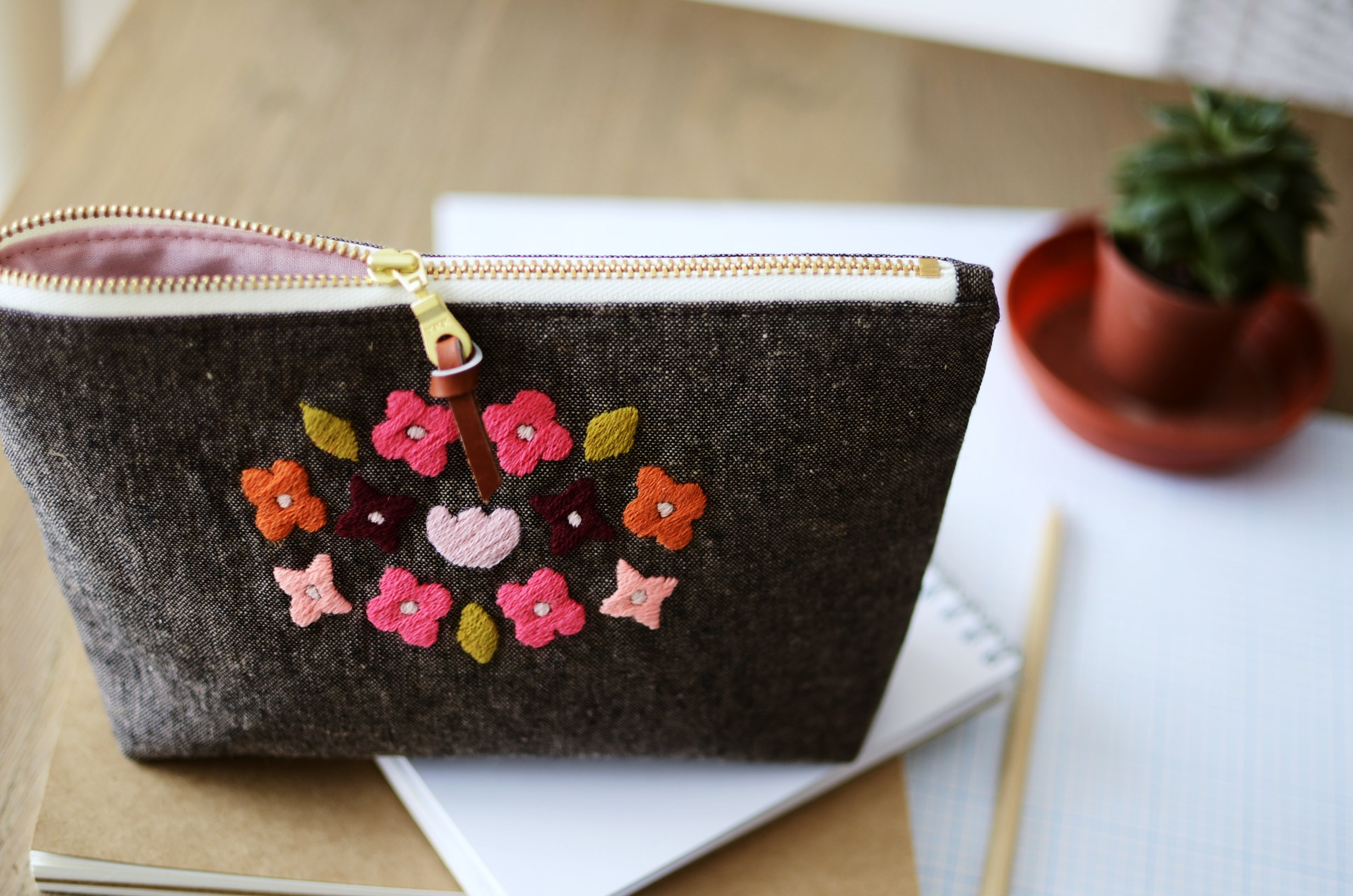 Daydream pouch from Stitch And Sew book by Aneela Hoey.JPG