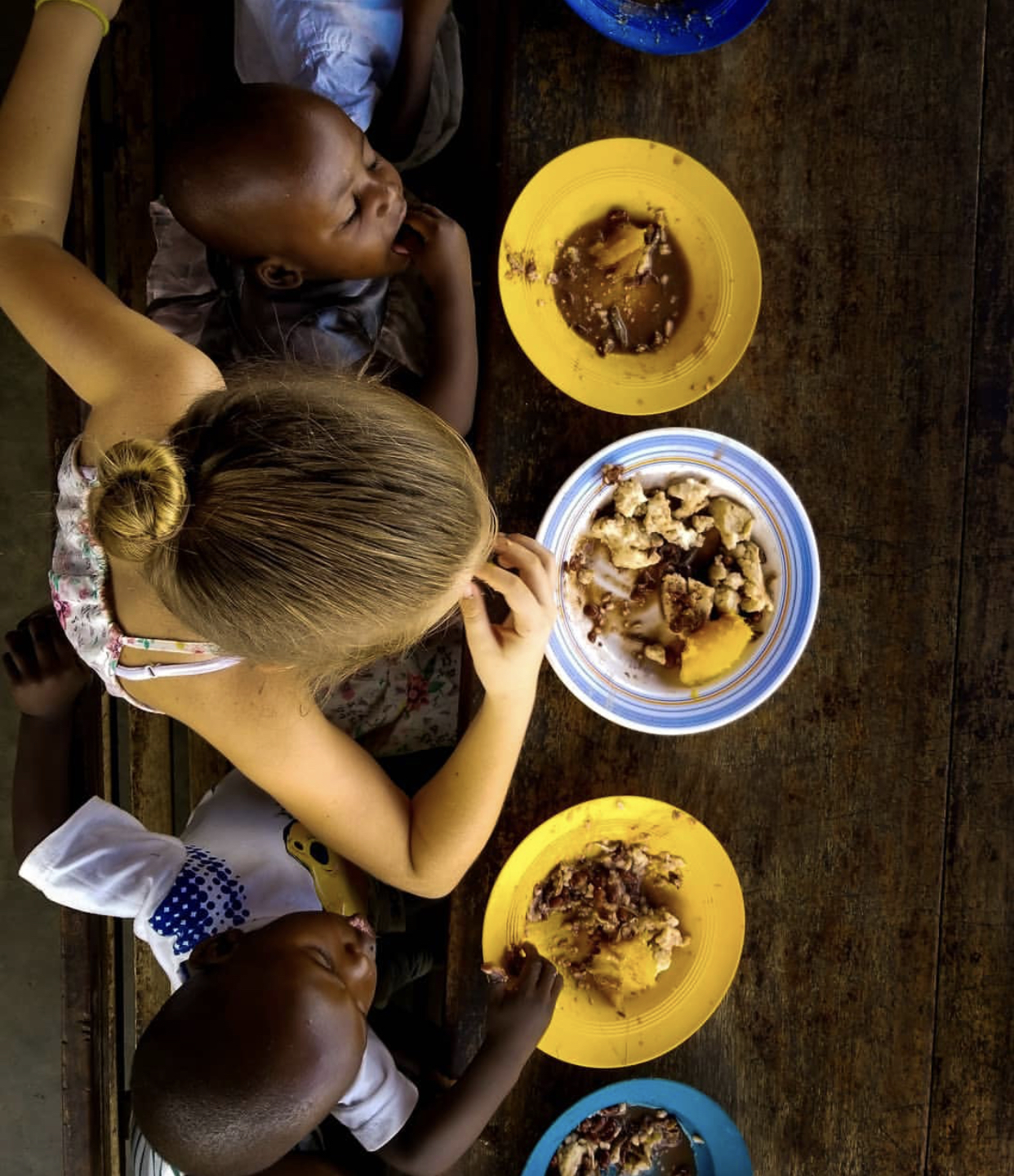 Food for children… - By providing much needed food for children at Hopeland School and Arise Africa International, we are helping to ensure that the children are healthy and can learn all they need to escape the circle of poverty.