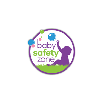 Baby Safety Zone logo - Dr. Alison's pediatric expertise has been featured in this publication