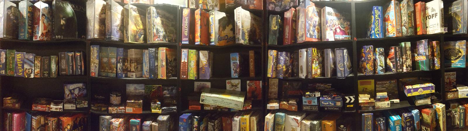 Collection Of Board Games.JPG