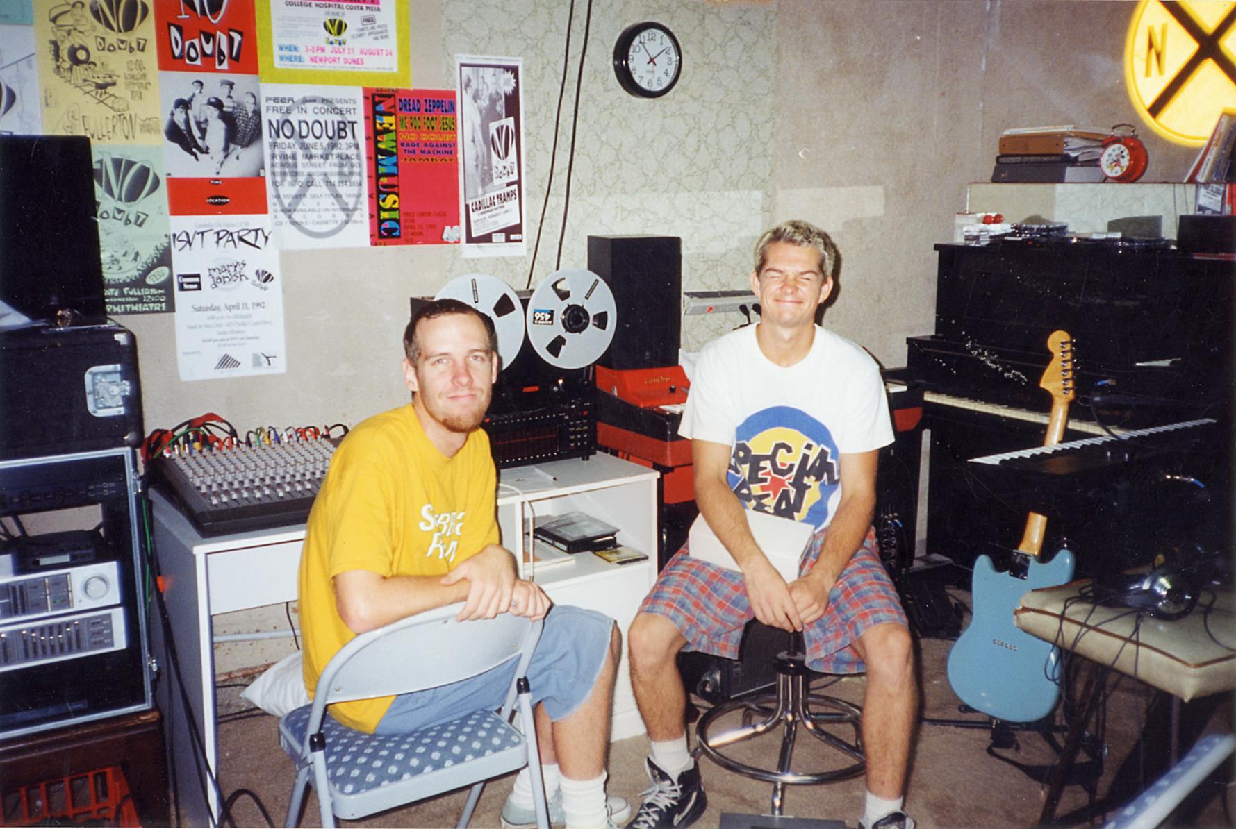 Beacon Ave garage - 1993