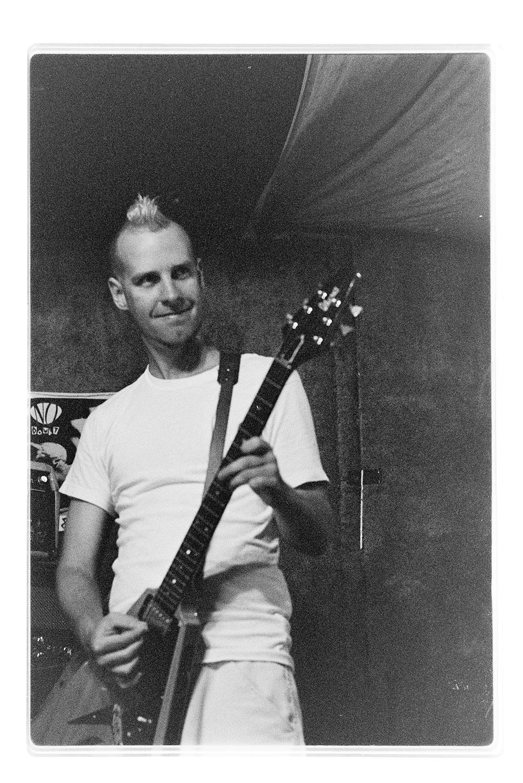 No Doubt rehearsal, Beacon Ave garage, Oct 18, 1995