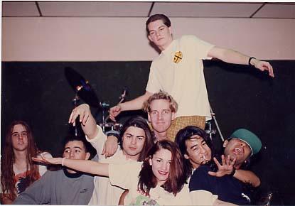"""Stompbox"" rehearsal studios, Anaheim. 1990?"