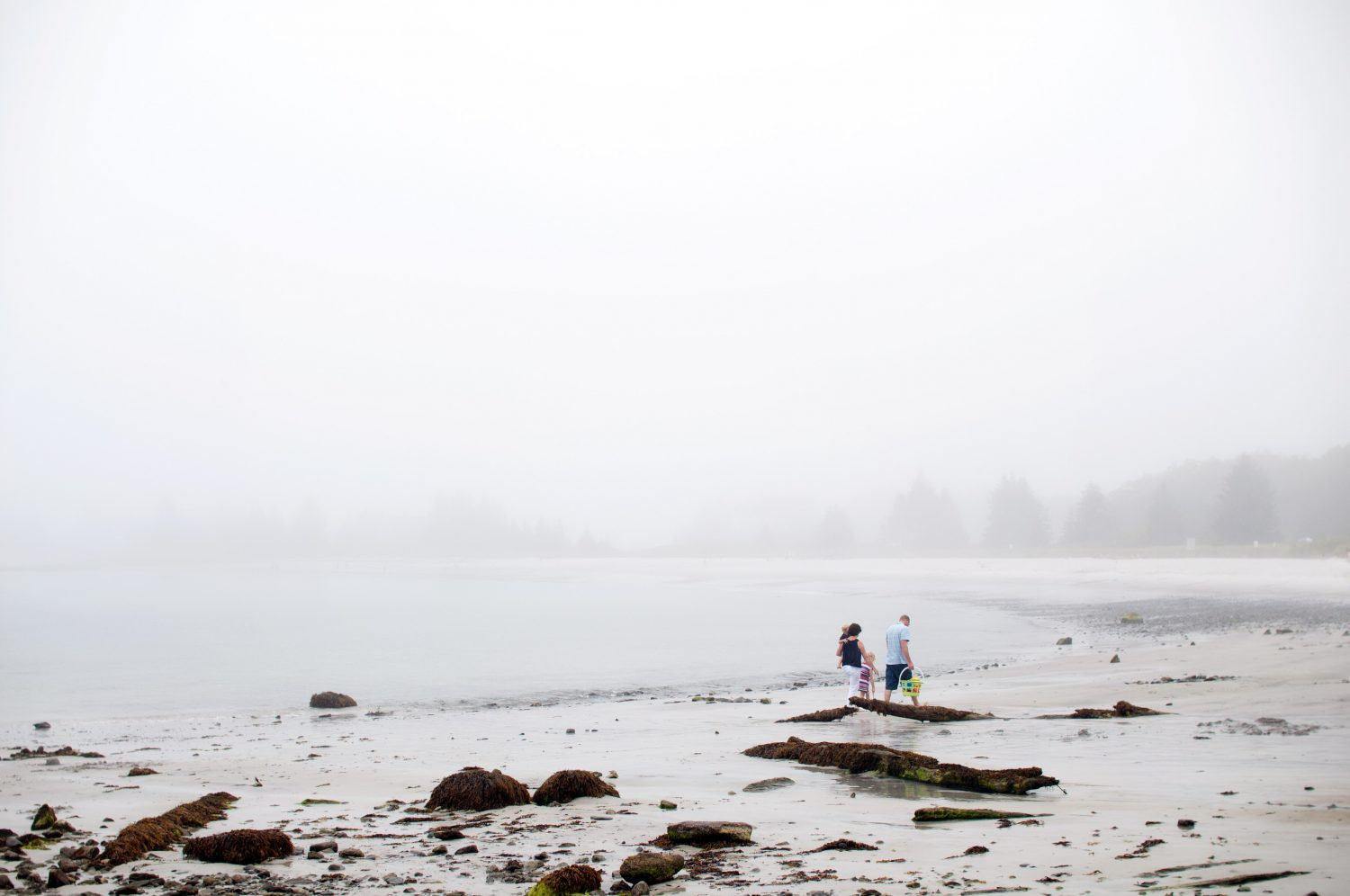 Family_walking-together_along_the_foggy_beach_in_Maind