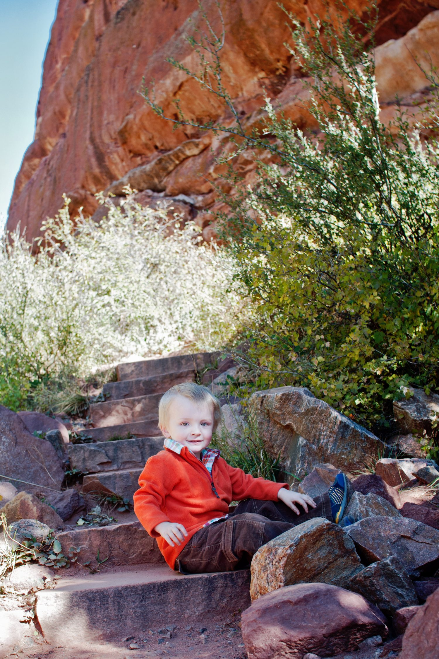 Red Rocks Family Session