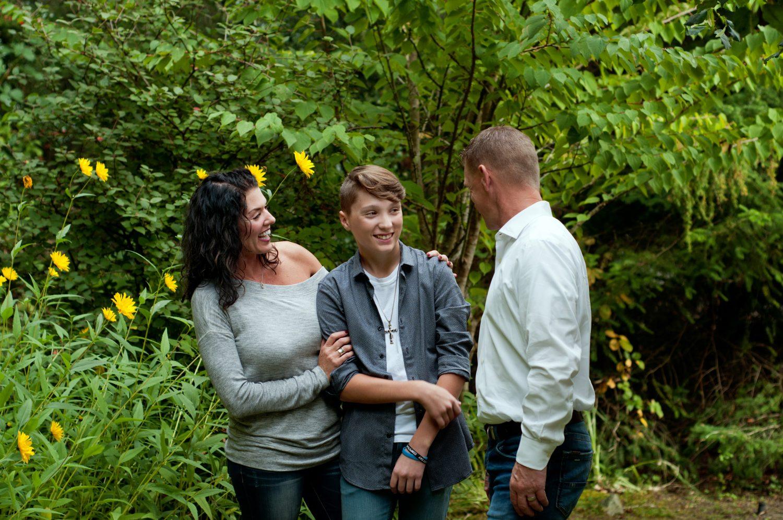 Autumn Family Photos | Tacoma Family Photographer