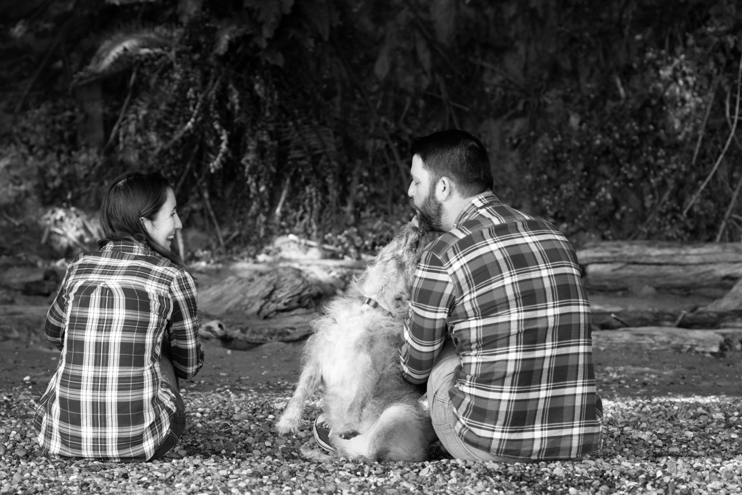 Couple Photo Session with Dog
