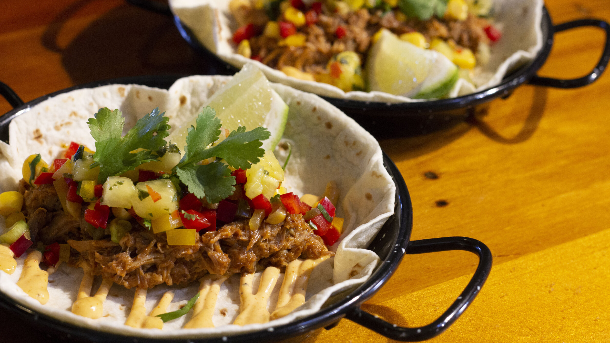 Jamaican Jerk Pulled Pork Taco