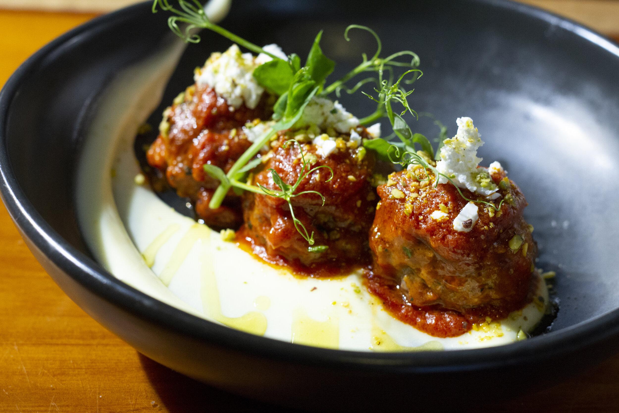 Lamb Mint & Pistachio Meatballs