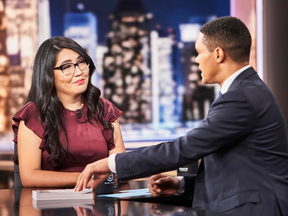 The Daily Show with Trevor Noah - JENNY HAN - CAPTURING YOUNG LOVE IN