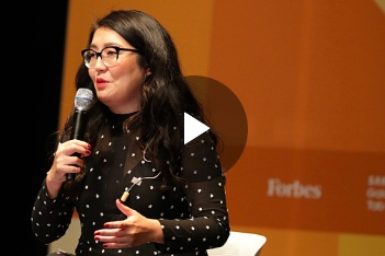 Forbes - Jenny Han: How I Turned My Bestselling Novel Into A Netflix Hit | Under 30 Boston Summit 2018