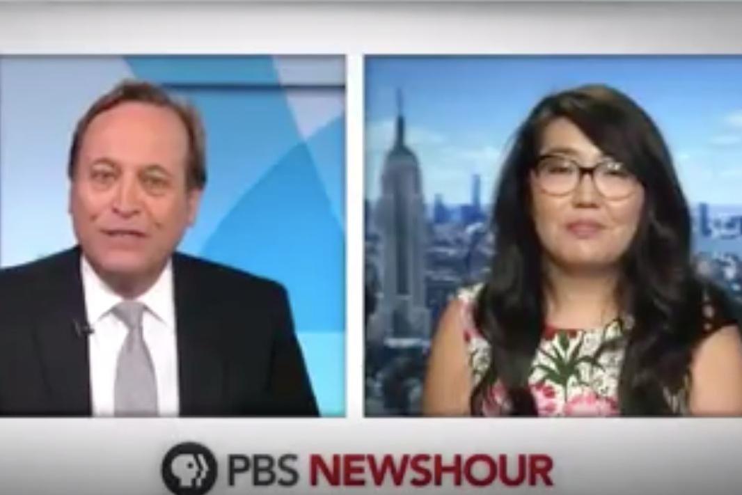 PBS Newshour - Author Jenny Han on the 'abundance' of an all-Asian movie castAugust, 2019