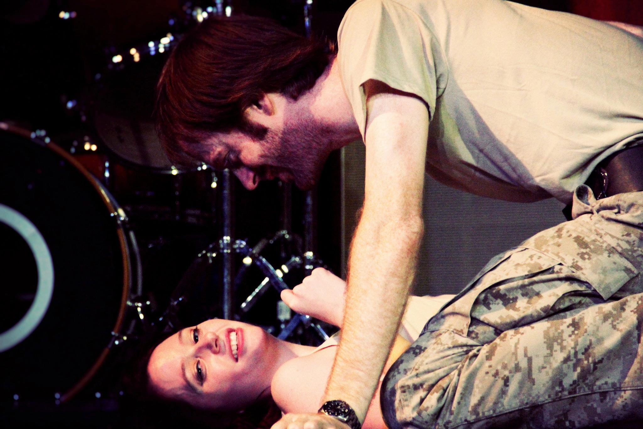 Cressida (Haley Cooper) and Diomedes (James Cooper)