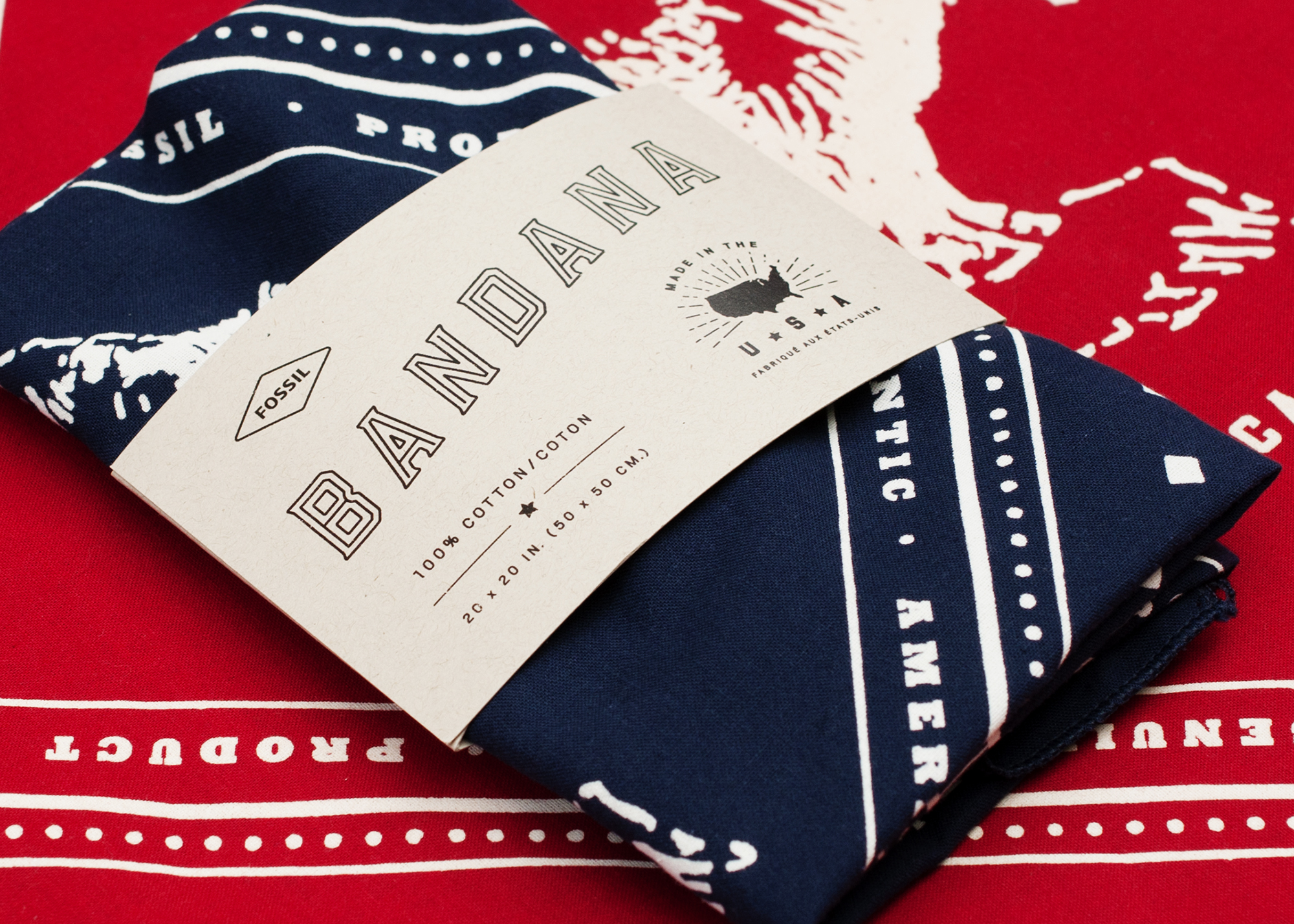 to bandanas… - Discharge printed bandanas or water based, we can set you up with finishing, too.