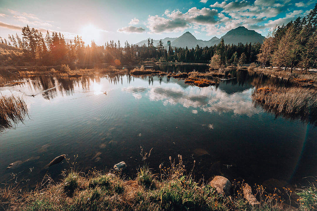 From https://picjumbo.com/wp-content/uploads/lake-under-tremendous-high-tatras-mountains-1080x720.jpg