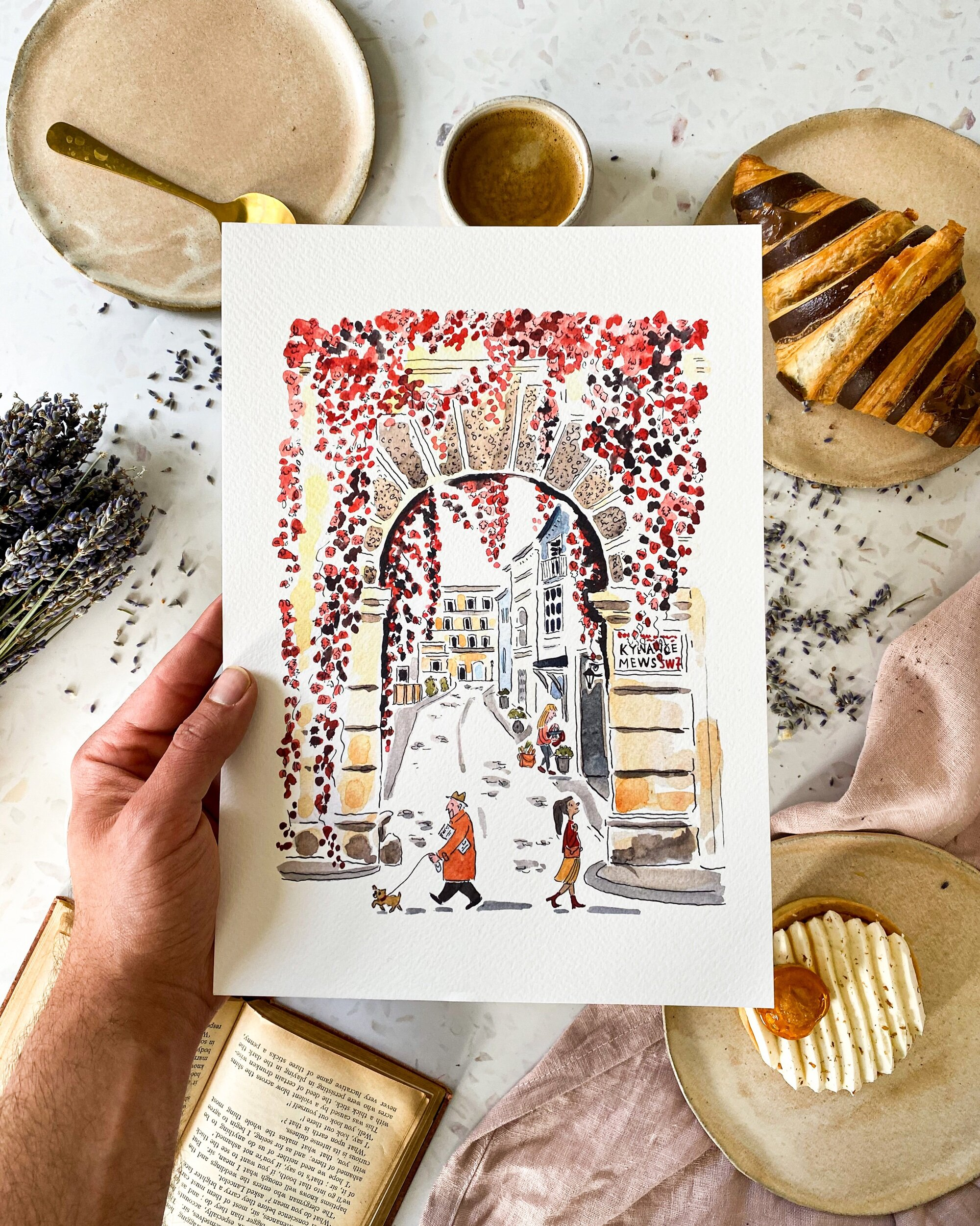 Autumn in London Print — Paper and Cities