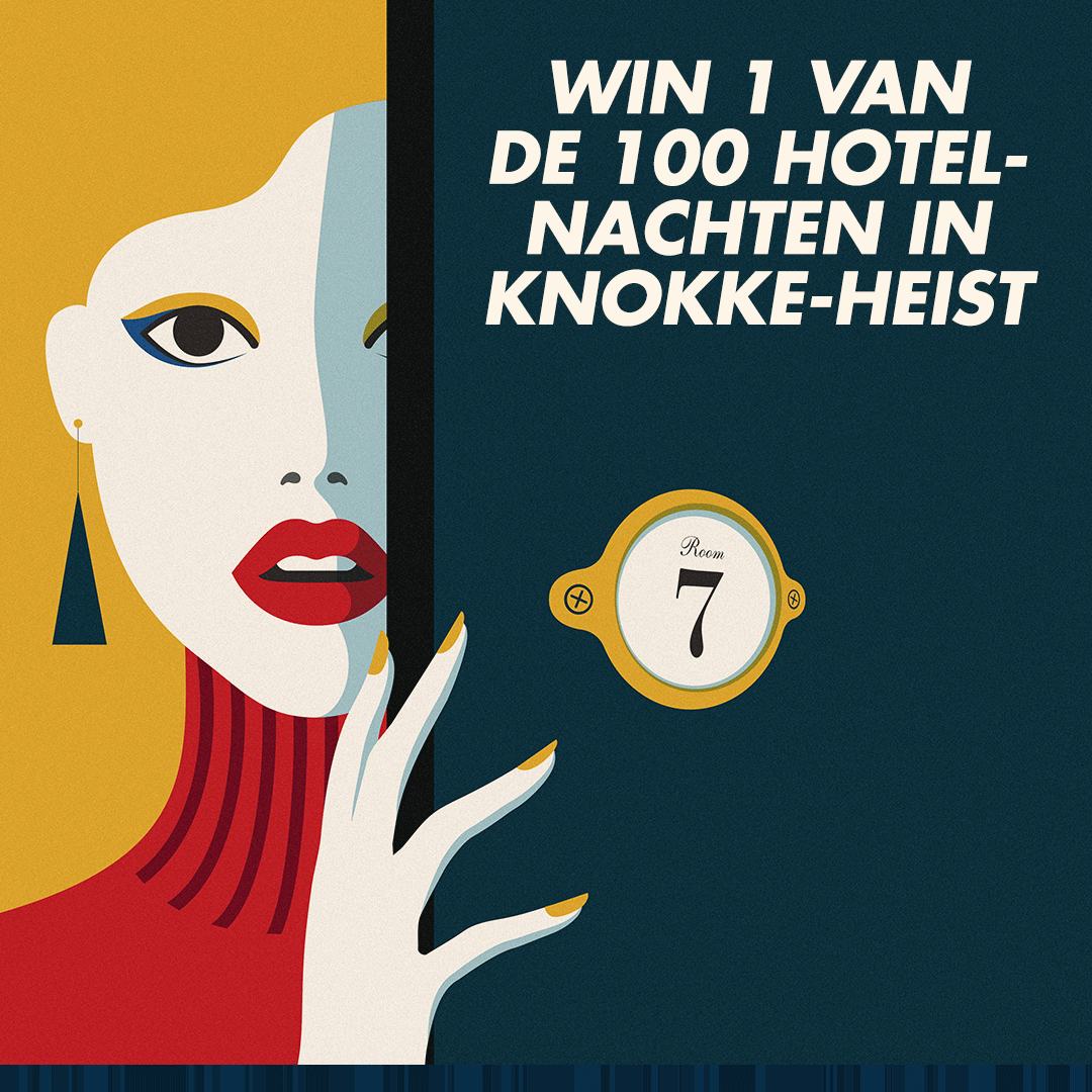 Knokke-Heist: #100 Free hotel nights - With the online competition