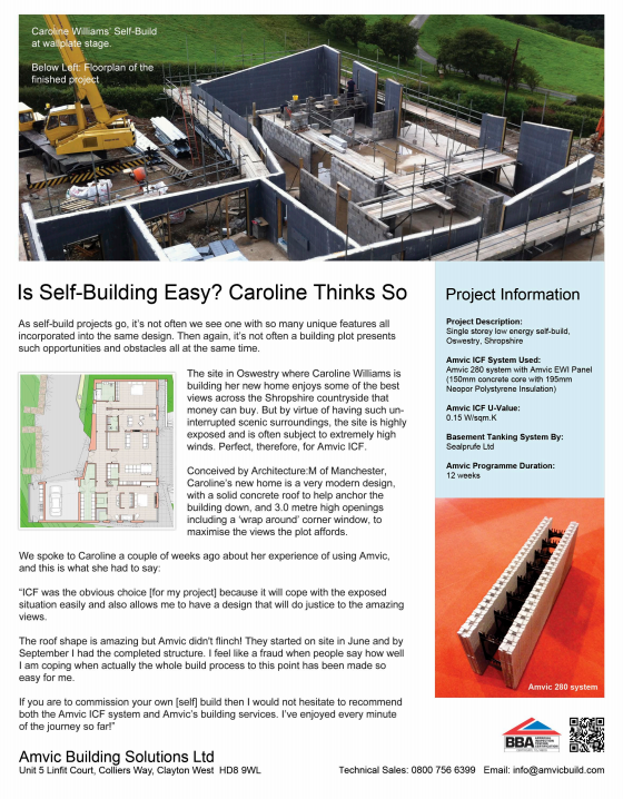 Caroline Williams Self-Build Case Study