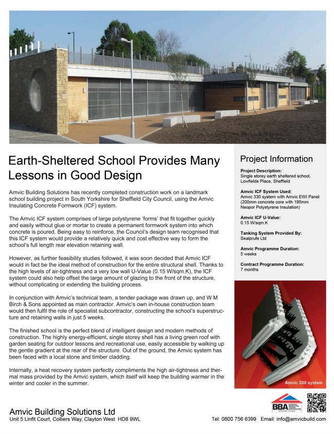 Lowfields Place School Build Case Study