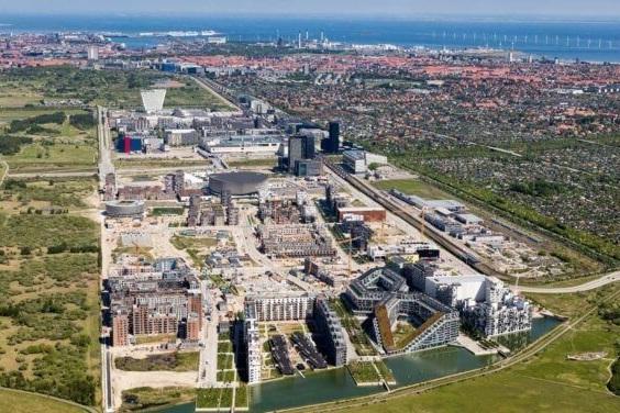 Growth in Ørestad - New CVR research shows growth in Ørestad
