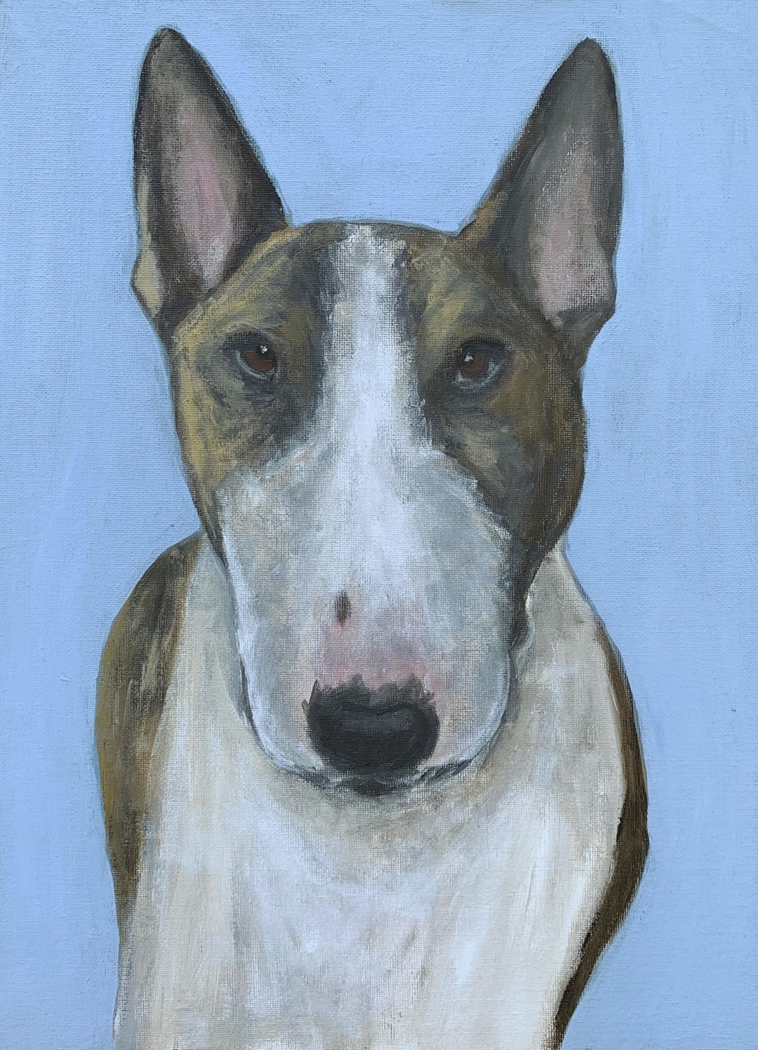 My Therapy Dog #13   Acrylic  12w 16h
